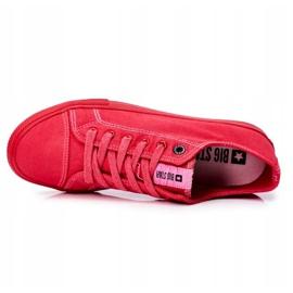 Men's Sneakers Big Star Red FF174336 5