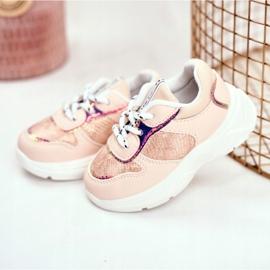 FRROCK Children's Sport Shoes Pink Snake Matylda 3