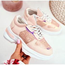 FRROCK Children's Sport Shoes Pink Snake Matylda 2