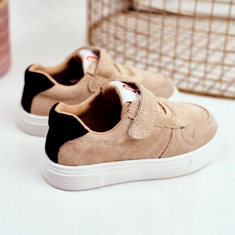 Albecros Velcro Shoes beige - ButyModne.pl