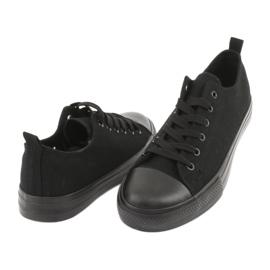 Black American Club LH16 sneakers 4