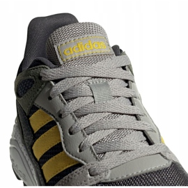 Adidas Crazychaos Jr EG3067 shoes grey green 3