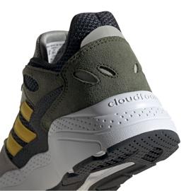 Adidas Crazychaos Jr EG3067 shoes grey green 4