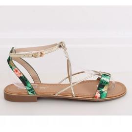 Women's green sandals JH125P Green 2