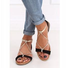 Black Women's sandals JH125P Black 3