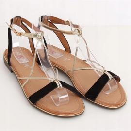 Black Women's sandals JH125P Black 1