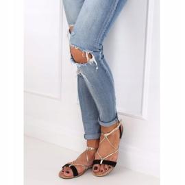 Black Women's sandals JH125P Black 2