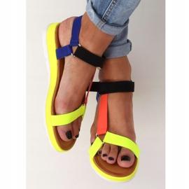 Women's sandals multicolor WS9027 Color multicolored 2