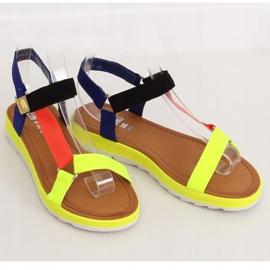 Women's sandals multicolor WS9027 Color multicolored 1