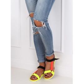 Women's sandals multicolor WS9027 Color multicolored 3