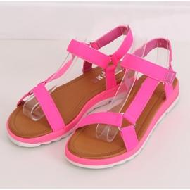 Pink Women's sandals WS9027 Rose 1