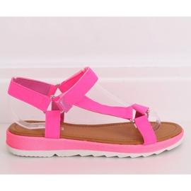 Pink Women's sandals WS9027 Rose 2
