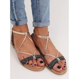 Black Women's sandals JH123P Black 3