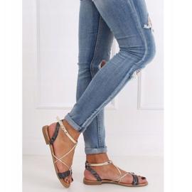 Black Women's sandals JH123P Black 4