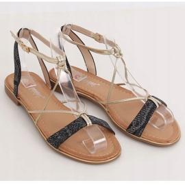 Black Women's sandals JH123P Black 1