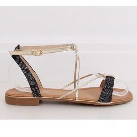 Black Women's sandals JH123P Black 2