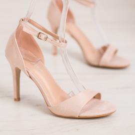SHELOVET Classic Suede Heels brown 4
