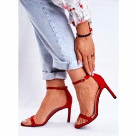 SEA Classic Red Basilian Women's Sandals 4
