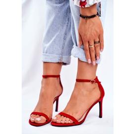 SEA Classic Red Basilian Women's Sandals 3