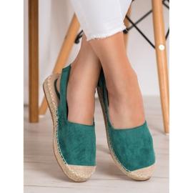 Nio Nio Espadrilles With An Open Heel green 2
