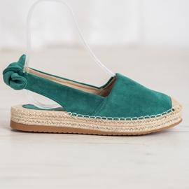 Nio Nio Espadrilles With An Open Heel green 3