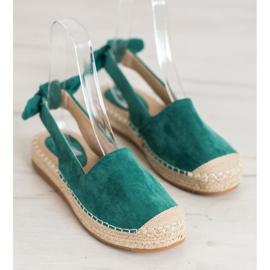 Nio Nio Espadrilles With An Open Heel green 4