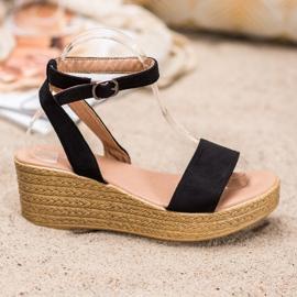 Renda Light Sandals On Wedge black 2