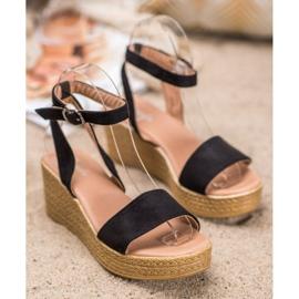 Renda Light Sandals On Wedge black 3