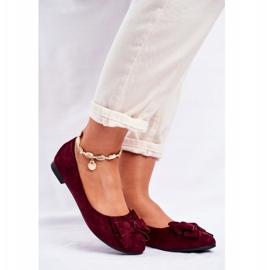 SEA Jordos women's ballerina shoes red 1
