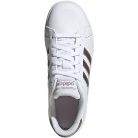 Shoes adidas Grand Court Jr EF0101 white black 1