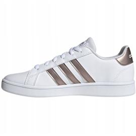 Shoes adidas Grand Court Jr EF0101 white black 2