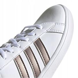 Shoes adidas Grand Court Jr EF0101 white black 3