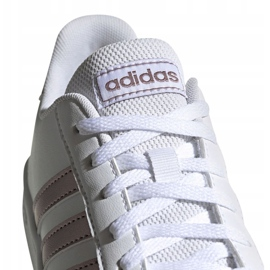 Shoes adidas Grand Court Jr EF0101 white black 4