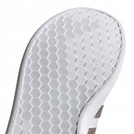 Shoes adidas Grand Court Jr EF0101 white black 5
