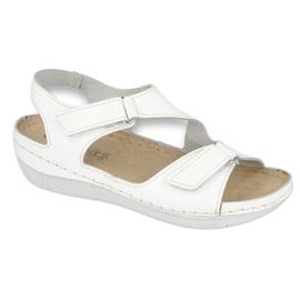 Inblu women's shoes sandals 158D113 white 1