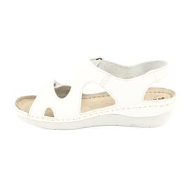 Inblu women's shoes sandals 158D113 white 2