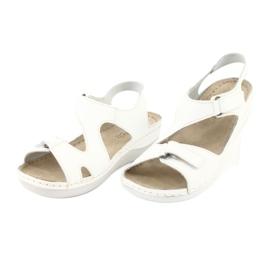 Inblu women's shoes sandals 158D113 white 3