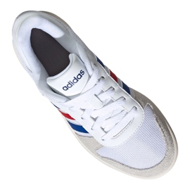 Adidas Hoops 2.0 Jr FW9120 shoes white grey 1