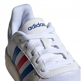 Adidas Hoops 2.0 Jr FW9120 shoes white grey 3