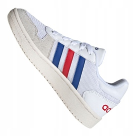 Adidas Hoops 2.0 Jr FW9120 shoes white grey 5