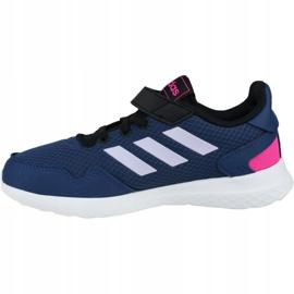 Shoes adidas Archivo C Jr EH0540 navy blue 1