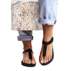 ZAXY Black Fragrant Rubber Sandals DD285039 3