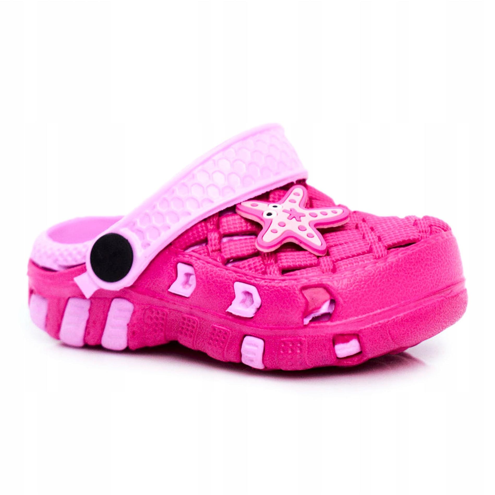 Children's foam slides Crocs Pink