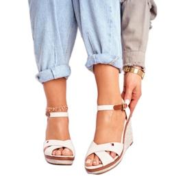 SEA Beige LaMane Women's Wedge Sandals 2