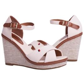 SEA Beige LaMane Women's Wedge Sandals 4