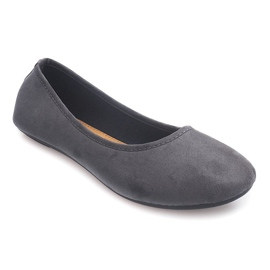 Classic Ballerinas 6000 Gray grey 1