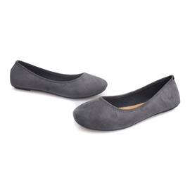 Classic Ballerinas 6000 Gray grey 3
