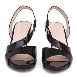 Painted Sandals TRA329 Black 1
