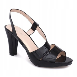 Painted Sandals TRA329 Black 2