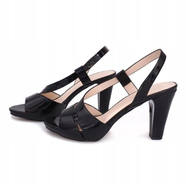 Painted Sandals TRA329 Black 3